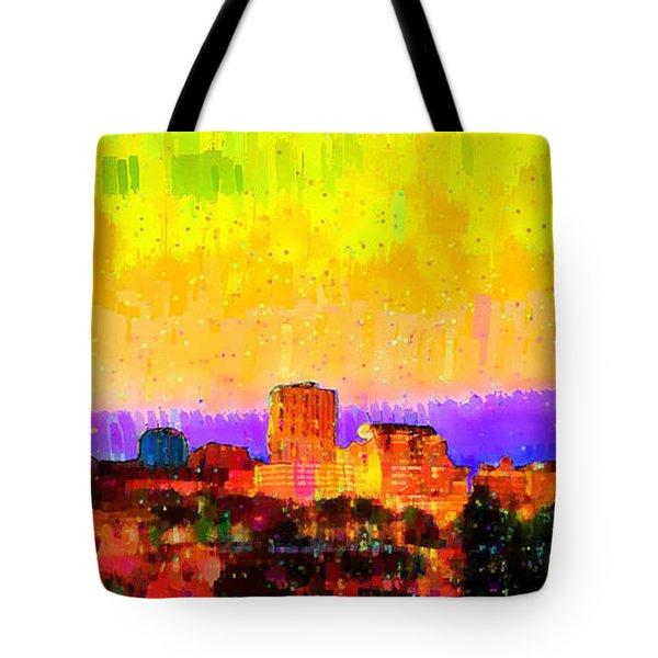 Fresno Skyline 106 - Pa Tote Bag