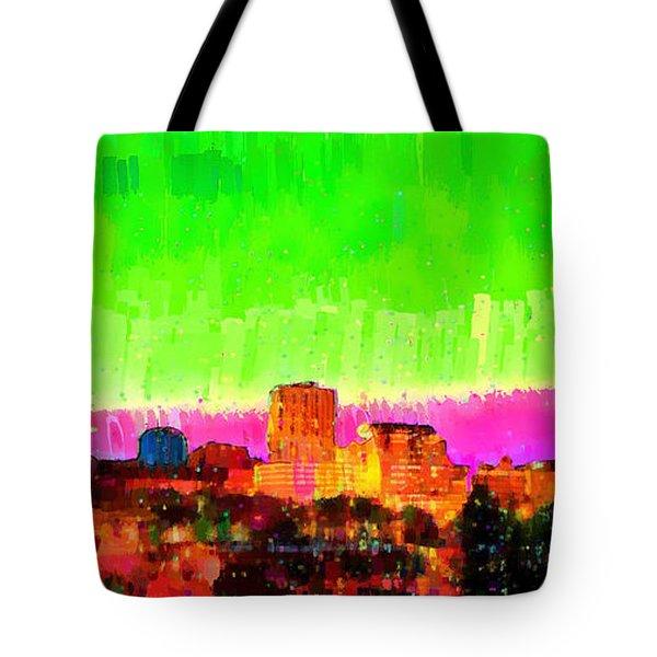 Fresno Skyline 107 - Da Tote Bag