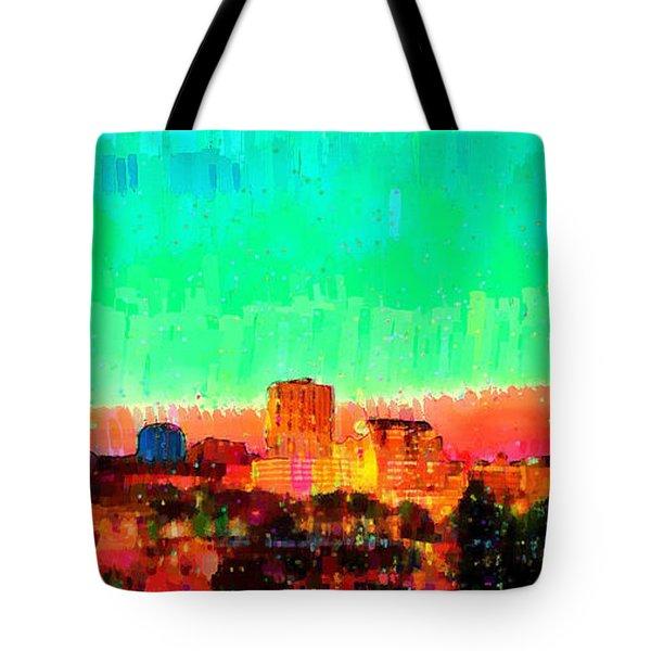 Fresno Skyline 108 - Pa Tote Bag