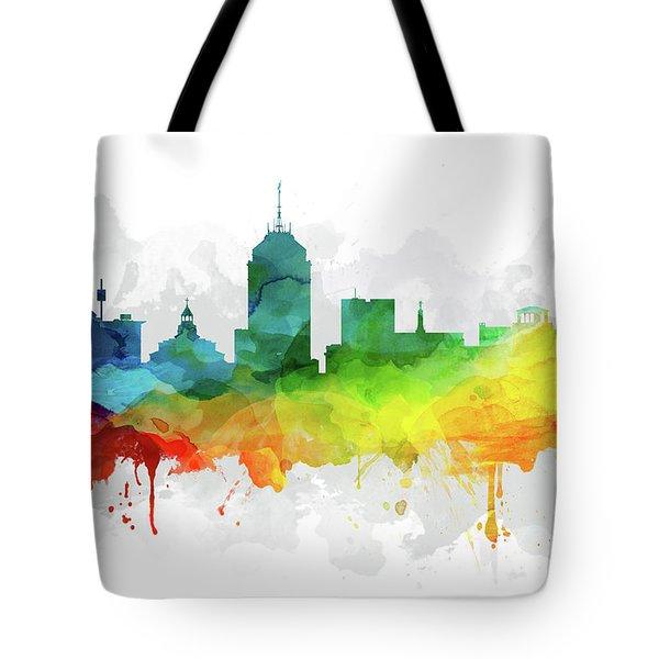 Fresno Skyline Mmr-uscafr05 Tote Bag
