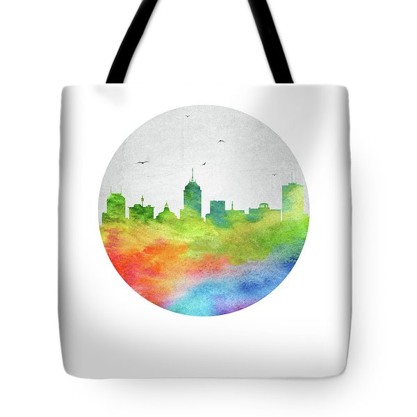 Fresno Skyline Uscafr20 Tote Bag