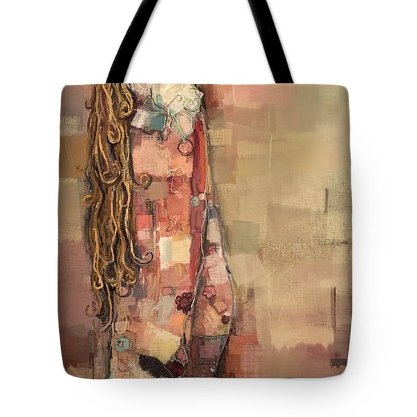 Freyja And Her Cats Tote Bag