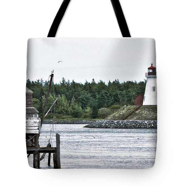 Friar's Head Lighthouse Tote Bag