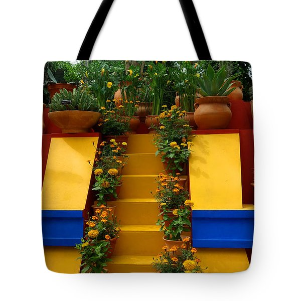 Frida Kahlo Exhibit At New York Botanic Garden Tote Bag