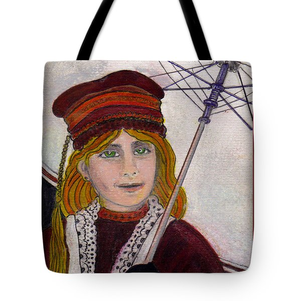 Frida On Her Way Tote Bag