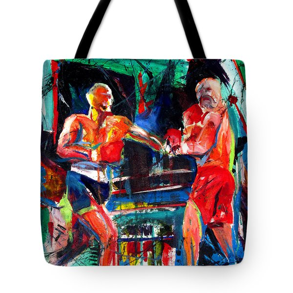 Friday Fight Tote Bag