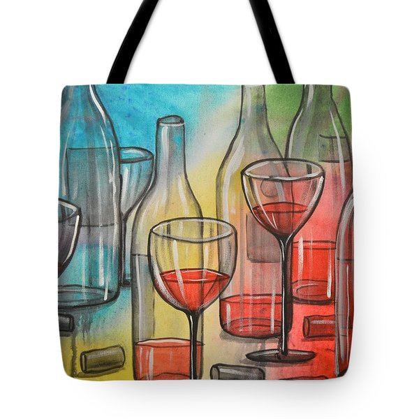 Friday Night Tote Bag