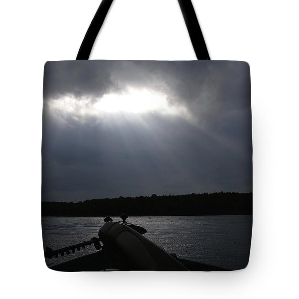 Friday Night Fish Fry Reservations Tote Bag by Angie Rea