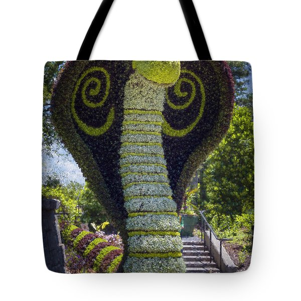 Friendly Cobra Tote Bag