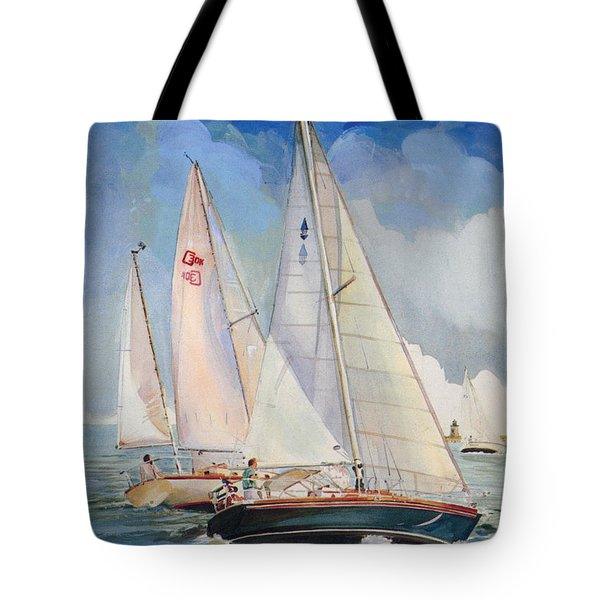 Friendly Competition Tote Bag