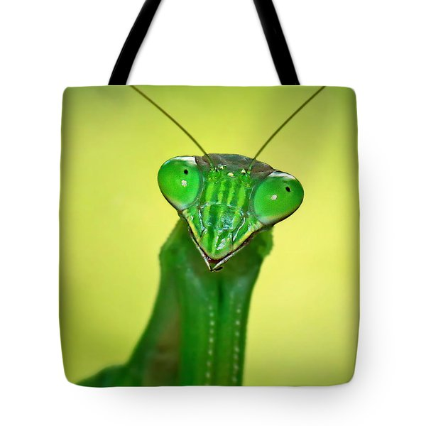 Friendly Mantis Tote Bag