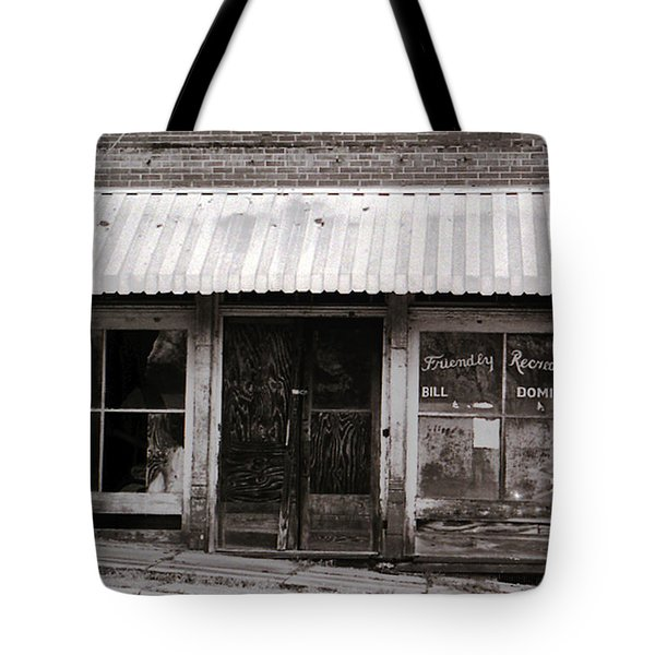 Friendly Recreation- Utica Mississippi Tote Bag