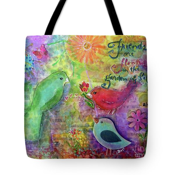 Friends Always Together Tote Bag