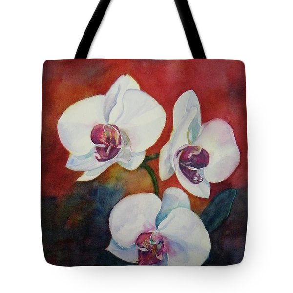 Tote Bag featuring the painting Friends by Anna Ruzsan