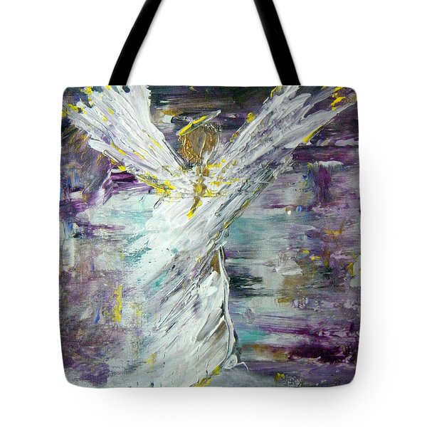 Friends Are Angels Tote Bag