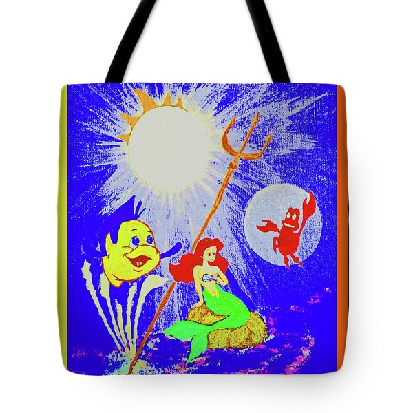 Friends Below The Sea Tote Bag