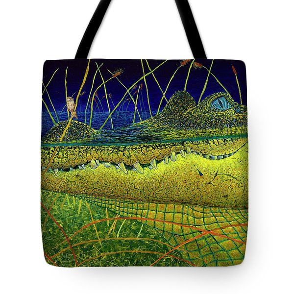 Swamp Gathering Tote Bag by David Joyner