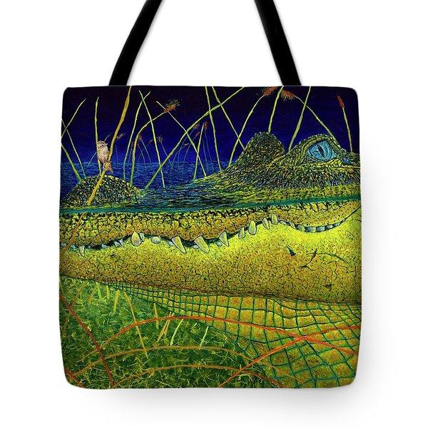 Swamp Gathering Tote Bag