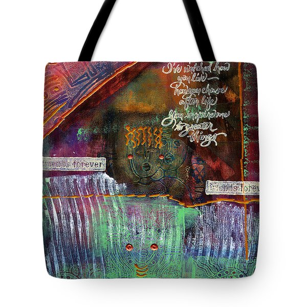 Friends Forever Tote Bag by Angela L Walker