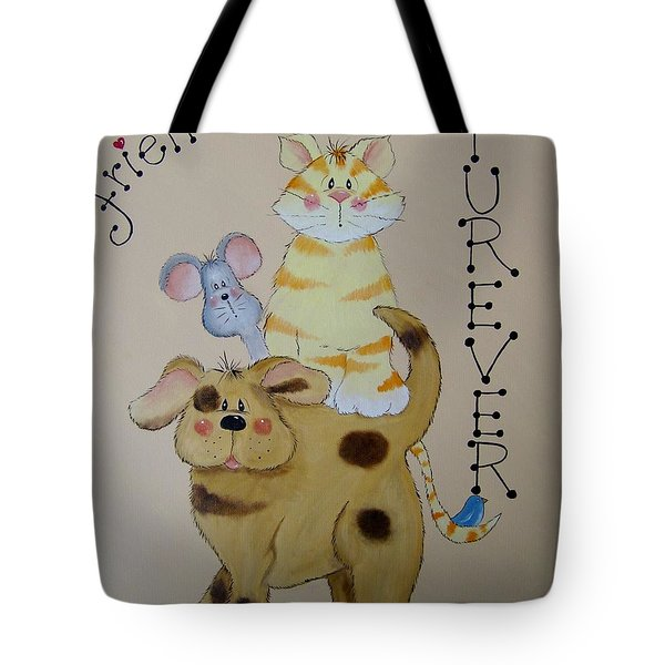 Friends Furever Tote Bag