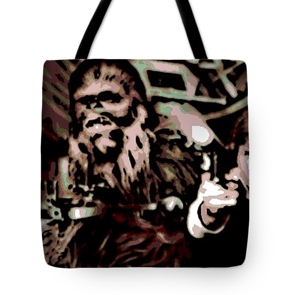 Friends Tote Bag by George Pedro