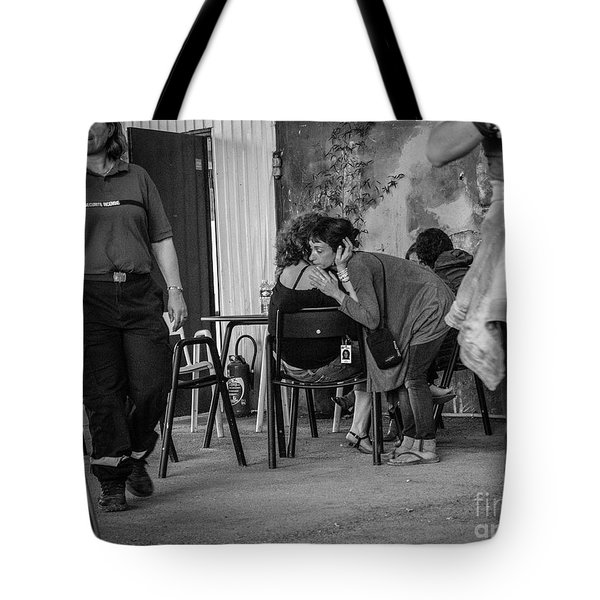 Tote Bag featuring the photograph Friends by Hans Janssen