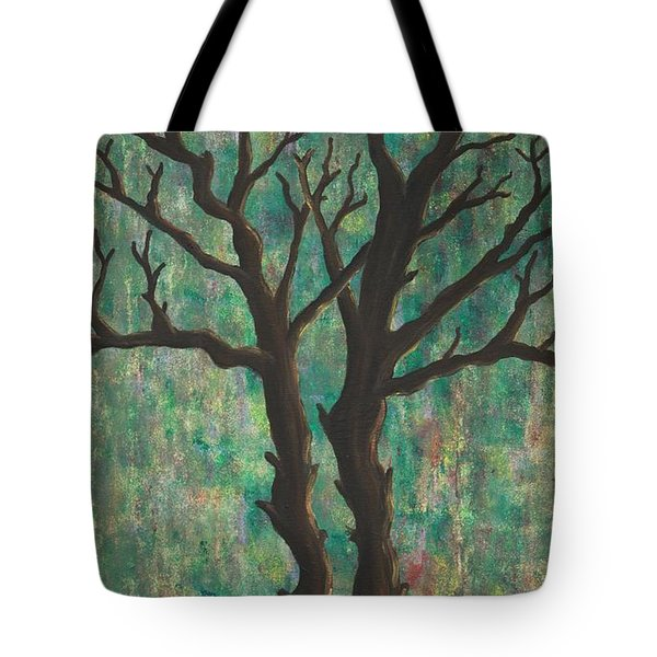 Tote Bag featuring the painting Friends by Jacqueline Athmann