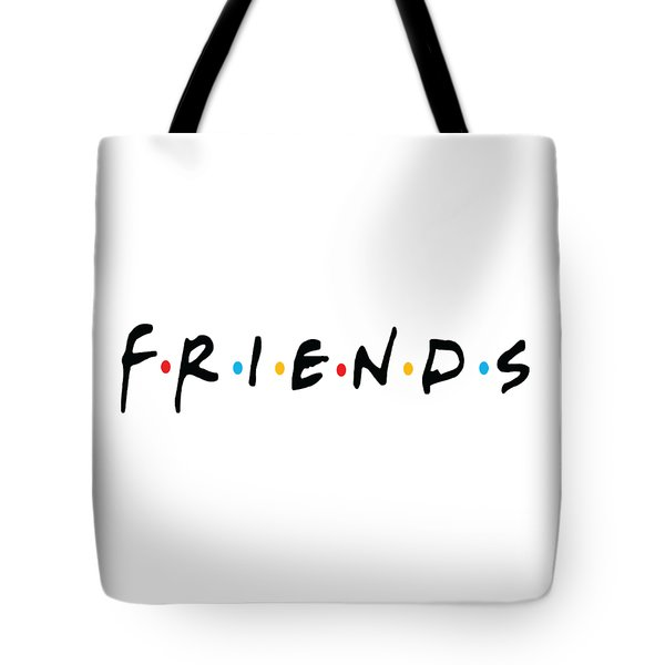 Tote Bag featuring the digital art Friends by Jaime Friedman