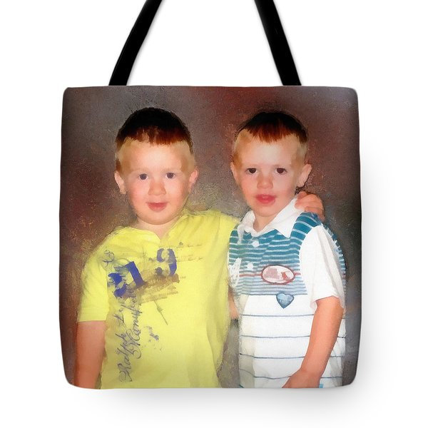 Tote Bag featuring the painting Friends by Jeffrey Kolker