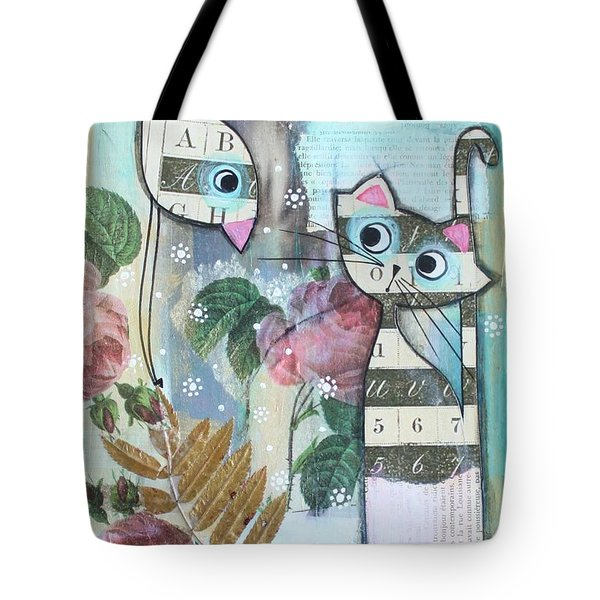 Friends Tote Bag by Johanna Virtanen