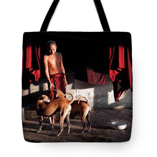 Friends Tote Bag by Marji Lang