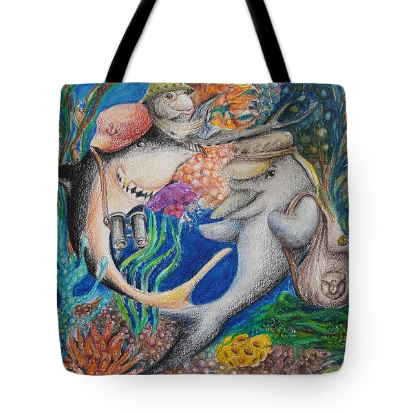 Friends Tote Bag by Rita Fetisov