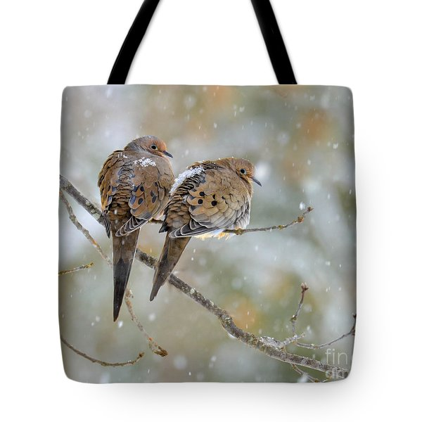 Friends Through The Storm Tote Bag