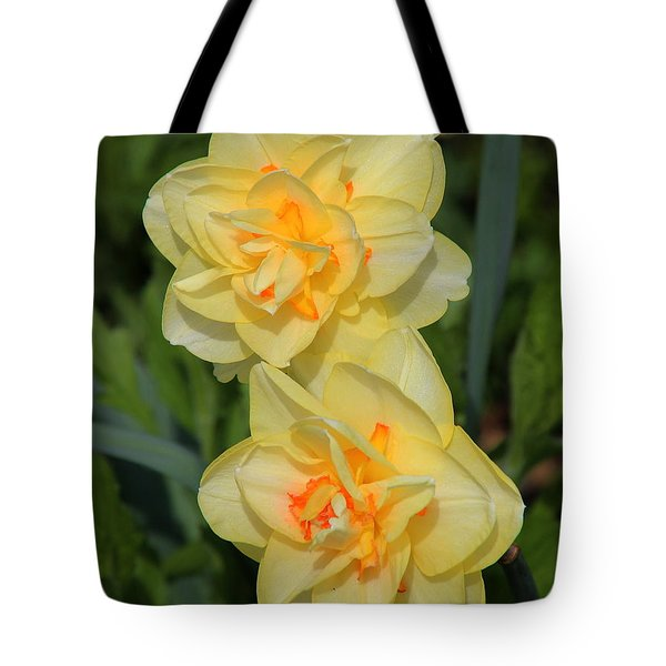 Friendship Daffodils Tote Bag by Rosanne Jordan
