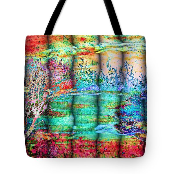 Friendship Tote Bag by Valerie Anne Kelly