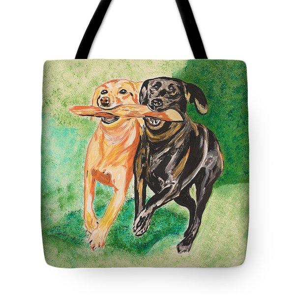 Friendship Tote Bag by Valerie Ornstein