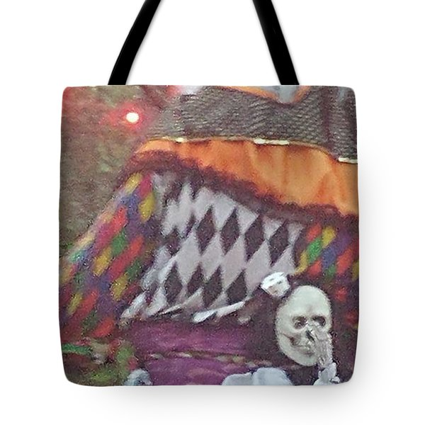 Frightening Ffiend Tote Bag