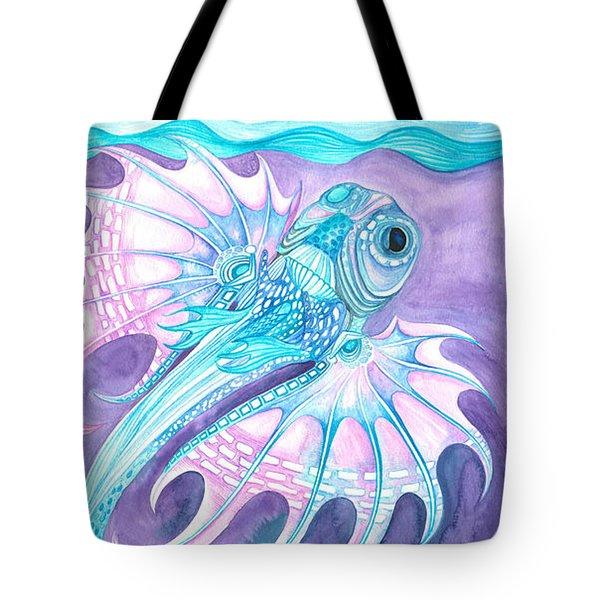 Frilled Fish Tote Bag