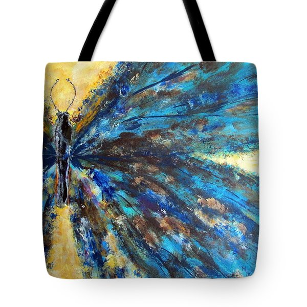 Fringed Tote Bag by Mary Arneson