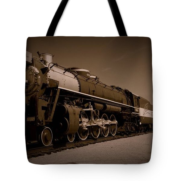 Frisco Meteor 4-8-4 Tote Bag by David Dunham