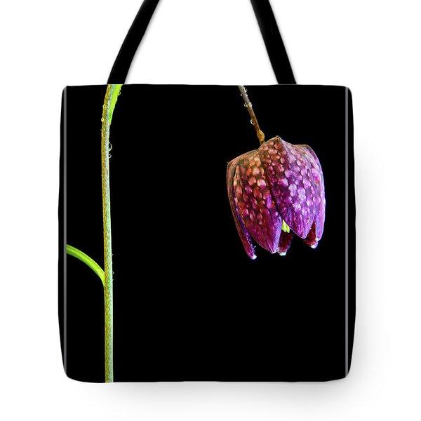 Fritillaria Meleagris, Snakes Head Fritillary Tote Bag