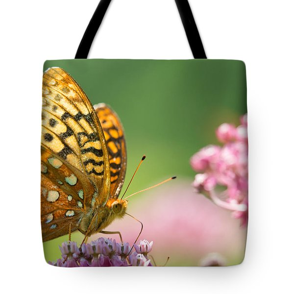 Tote Bag featuring the photograph Fritillary by Brian Hale