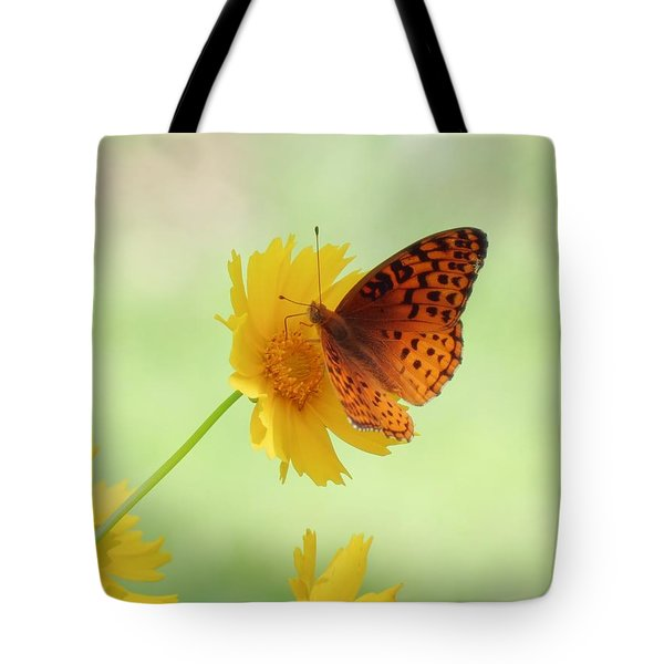 Fritillary Fun Tote Bag