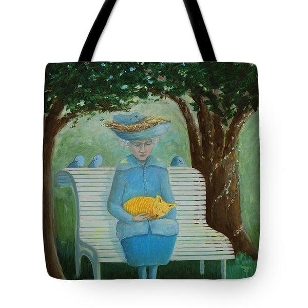 Frk Blund Tote Bag