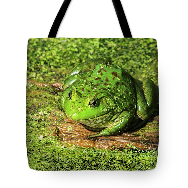 Frog And Duck Weed Tote Bag