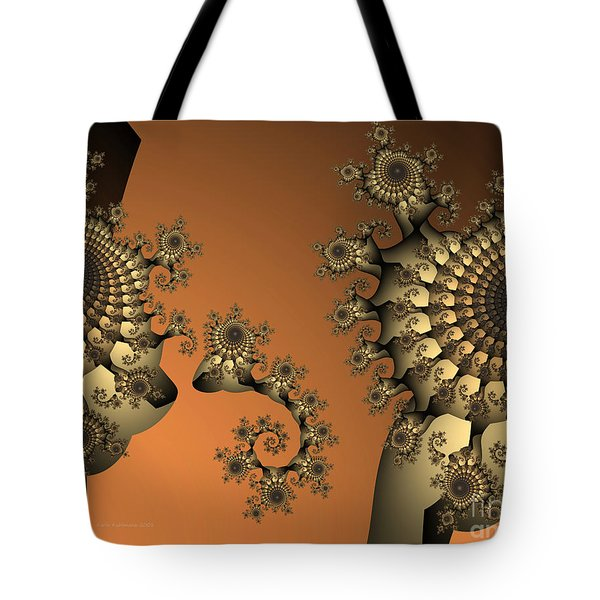 Tote Bag featuring the digital art Frog King by Karin Kuhlmann