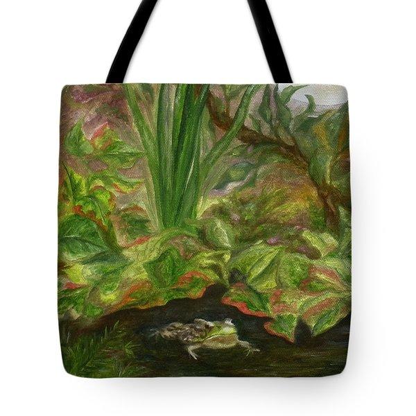Frog Medicine Tote Bag