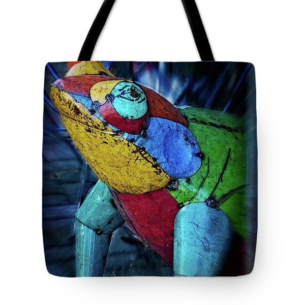 Tote Bag featuring the photograph Frog Prince by Mary Machare