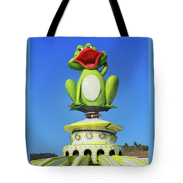 Froggy Tote Bag by Don Pedro De Gracia