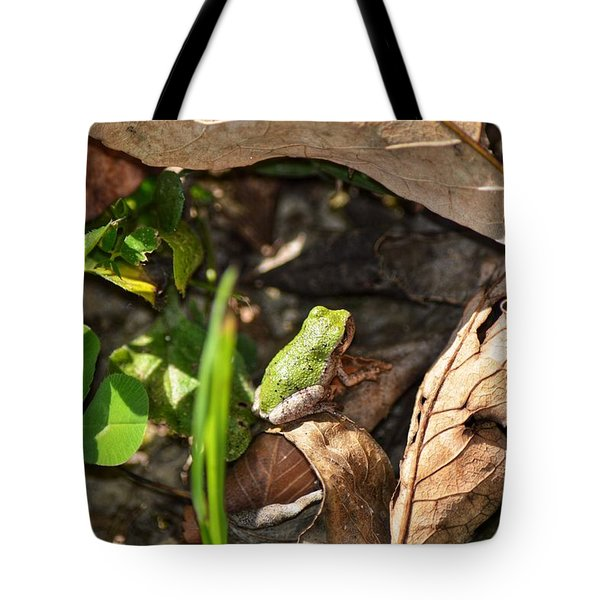 Froggy  Tote Bag
